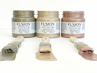 Metallic Fusion Mineral Paint