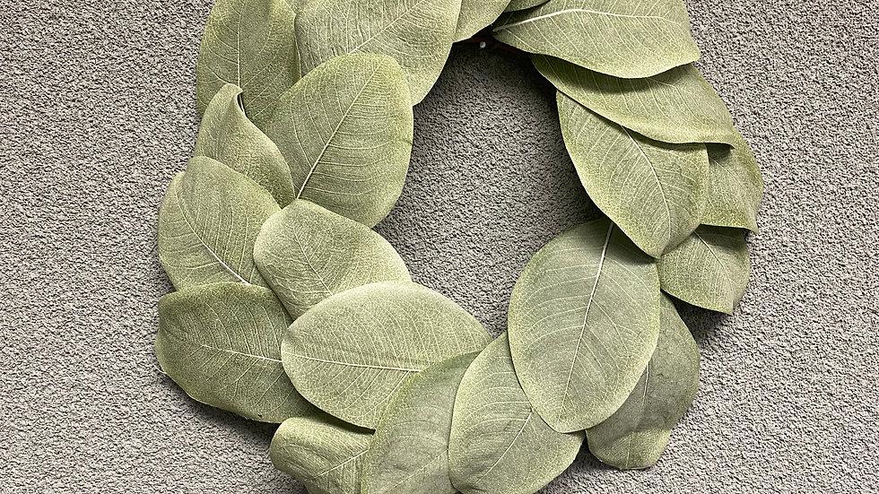 """Cove Harbour Magnolia Wreath 13"""""""