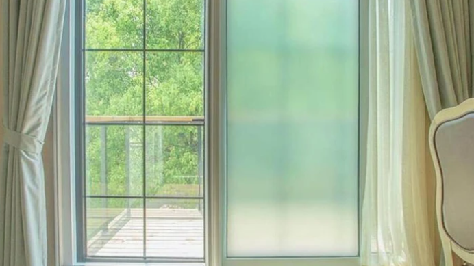Frosted Stick Shades Window Film