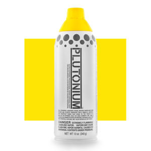 Plutonium Spray Paint - Limon Cello 340g