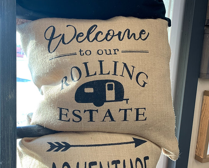Welcome to our Rolling Estate Pillow