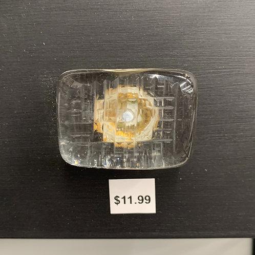Smooth Rectangular Glass Knob