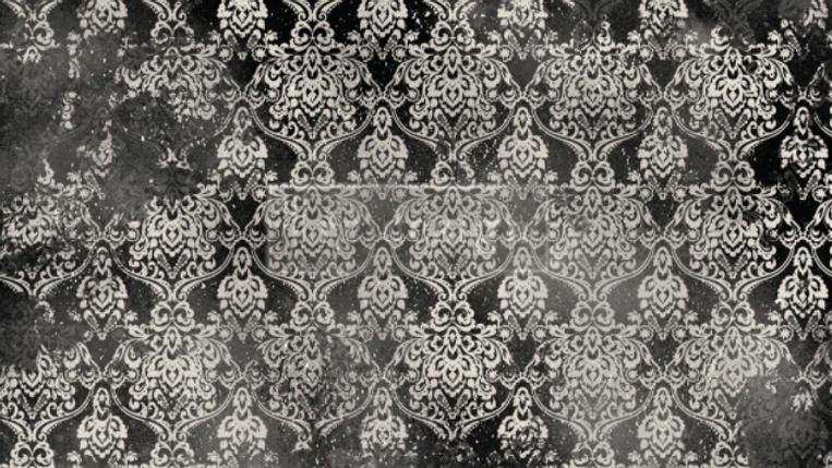 Re-Design Decoupage Paper  -DARK DAMASK
