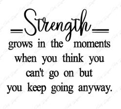 Strength Grows