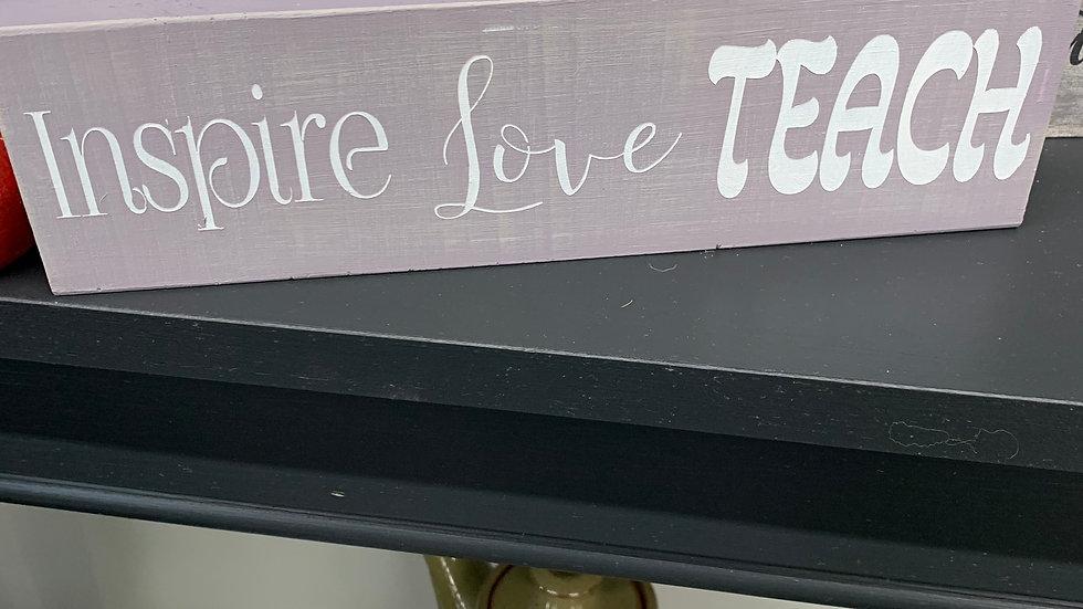 Inspire Love Teach Mini's