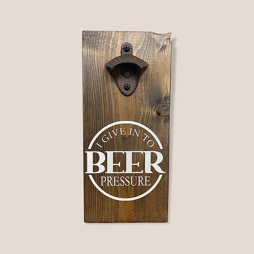 Beer Pressure Bottle Opener