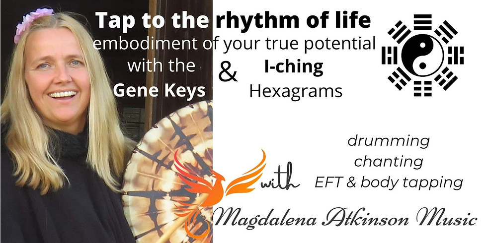 Embodiment of your true potential - 64 days course with the Gene Keys and I-ching haxagrams