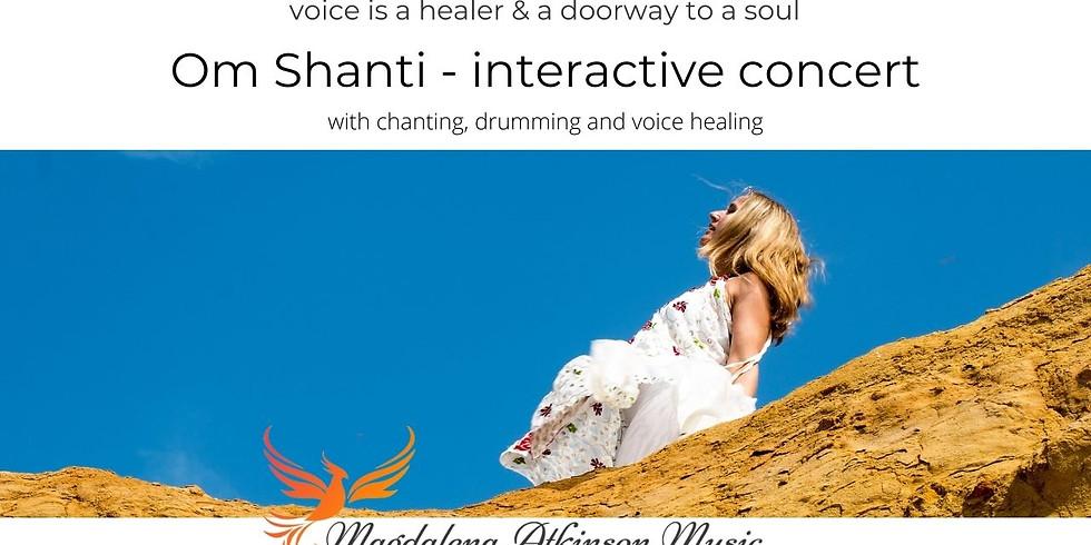 Om Shanti - interactive concert with Magdalena Atkinson