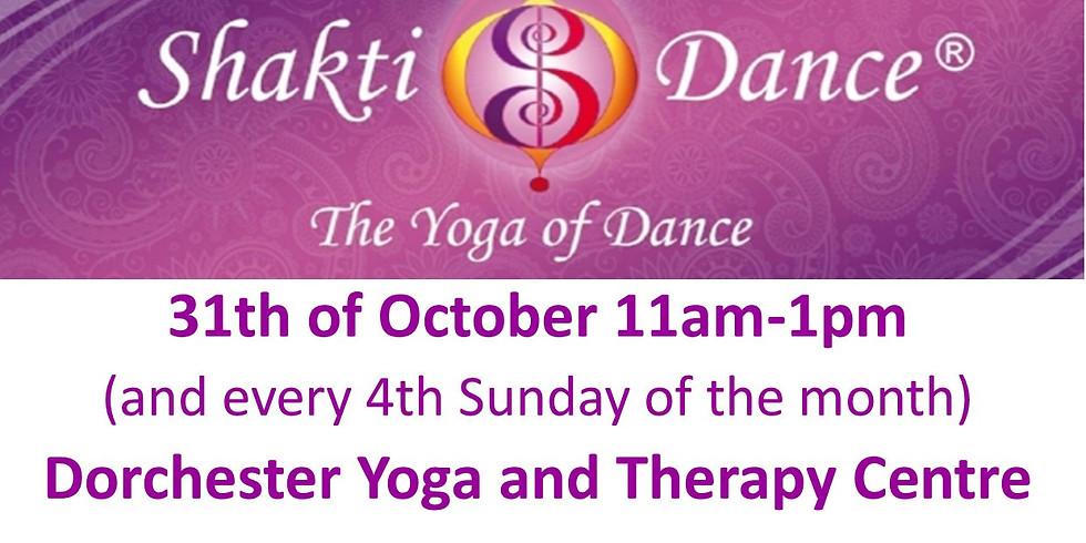 Shakti Dance - Yoga of Dance workshop - October