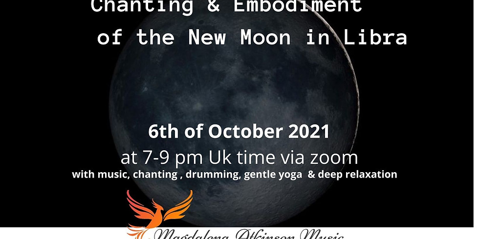 Chanting and embodiment of the New Moon in Libra