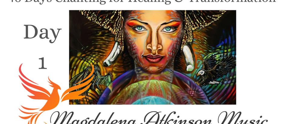 Day 1 of 40 Days Chanting for healing and Transformation - Ra Ma Da Sa