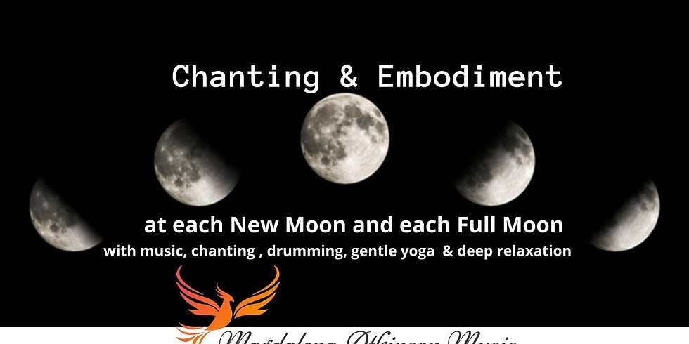 Chanting and Embodiment of the Full Moon Taurus