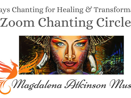 Day 19 - Full Moon Chanting Circle via Zoom - 40 Days Chanting for Healing and Transformation