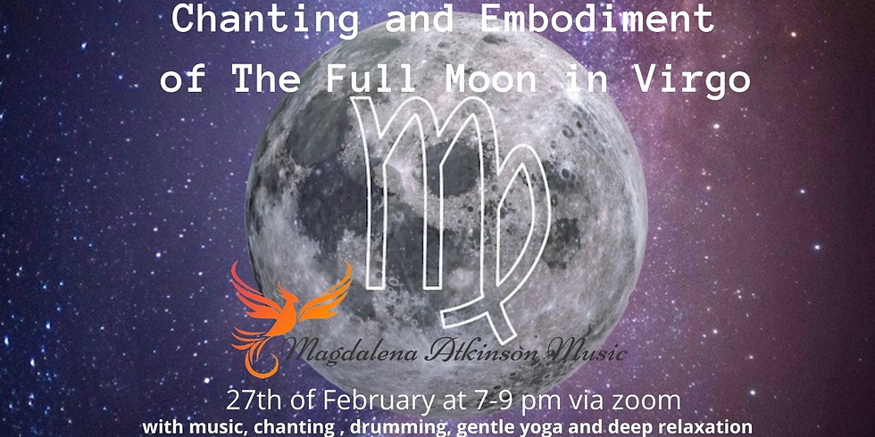Chanting and Embodiment of the Full Moon in Virgo