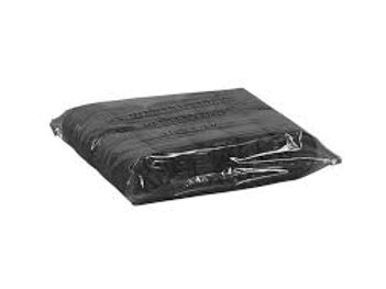 Copri lettino nero con elastico conf. 10pz