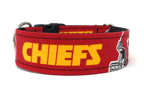 KC Chiefs LP | dog collar
