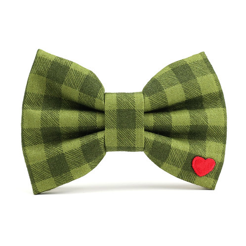 Frontier Check | dog bow tie