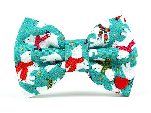 Polar Bears | dog bow tie