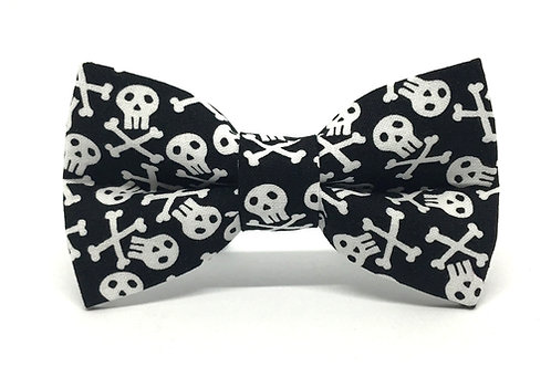 Skully | dog bow tie