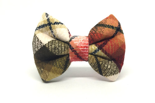 Pappy | FLANNEL diva dog bow