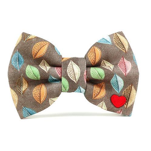 Woodland | dog bow tie