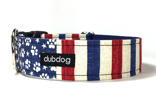 The Pawtriot | dog collar
