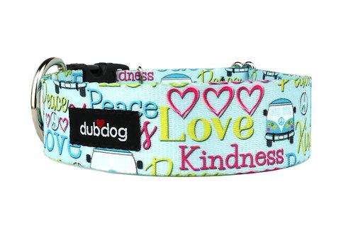 Peace Love | dog collar