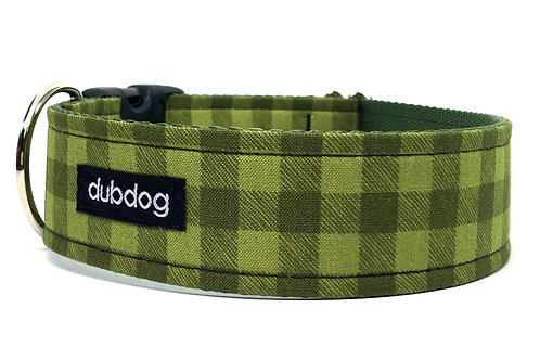 Frontier Check | dog collar