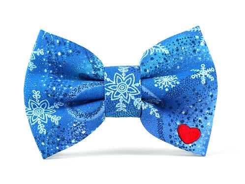 Let it Snow | dog bow tie