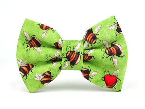 Bee Kind | dog bow tie