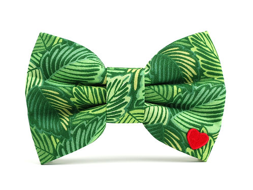 Forest | dog bow tie