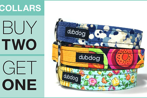 Dog Collars   Buy Two, Get One FREE!