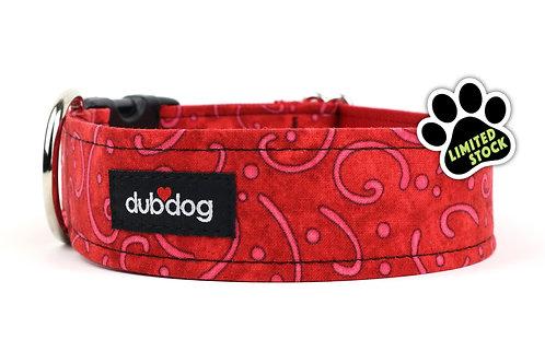 Scarlet   dog collar