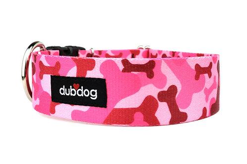 Pink Bones | dog collar