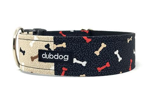 Mr. Bonejangles   dog collar