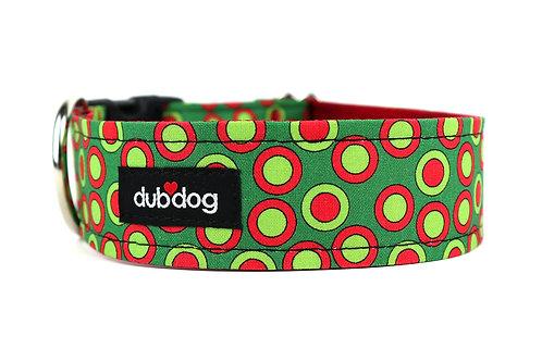 Grinchy   dog collar