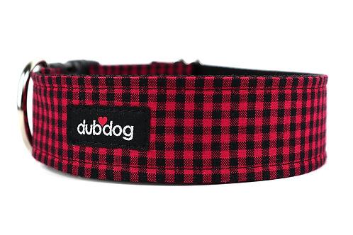 Cozy Check Mini | dog collar