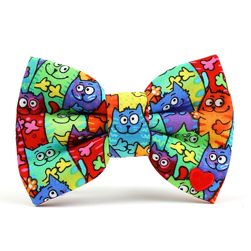 The Cats Meow | dog bow tie