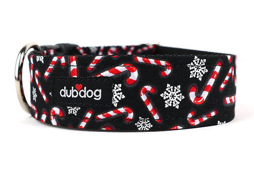 Candy Canes | dog collar