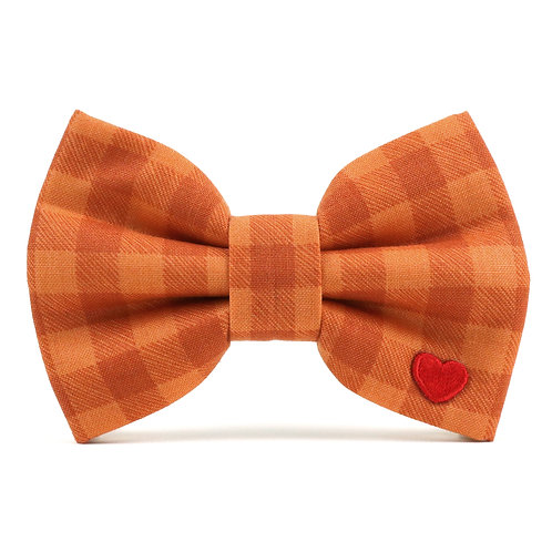 Canyon Check | dog bow tie
