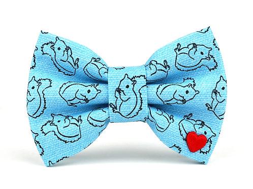 Squirrel! | dog bow tie