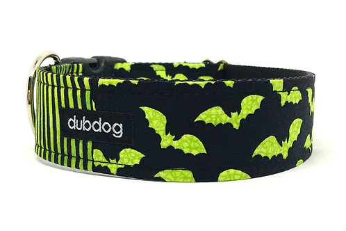 Goin Batty | dog collar
