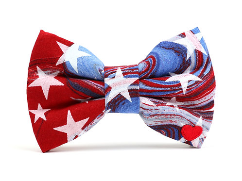 Star Spangled | dog bow tie