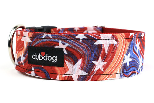 Star Spangled | dog collar