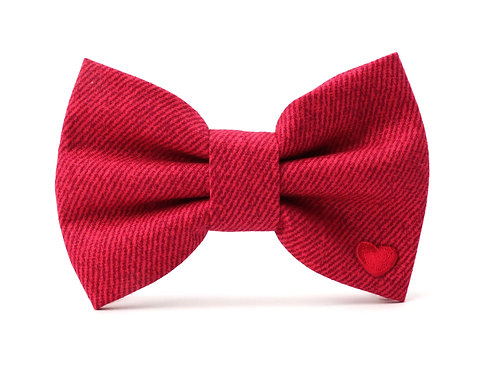 Red Jeans | dog bow tie