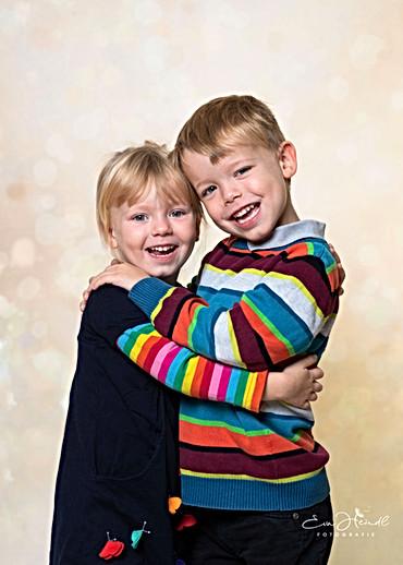Geschwister im Kindergarten