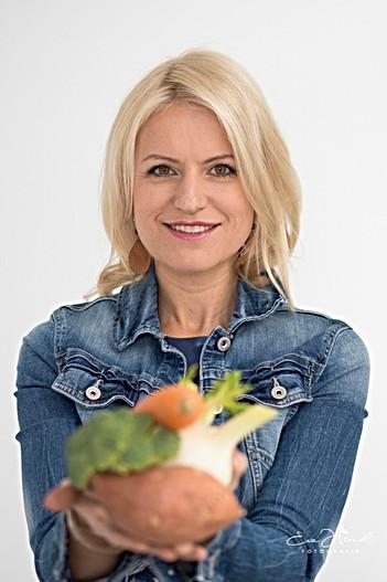 Portrait für gesunde Ernährung