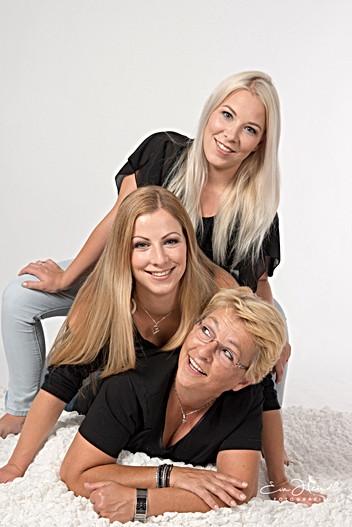Mutter mit Töchter