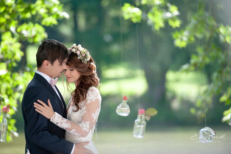Vintage Hochzeit am See