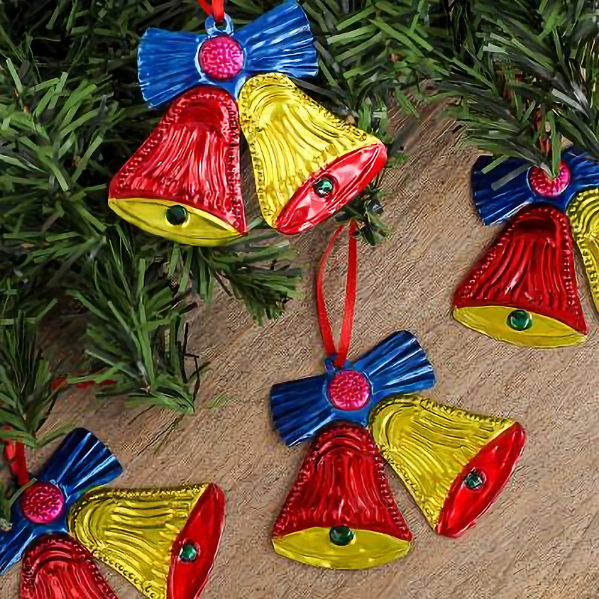 Punched tin ornaments